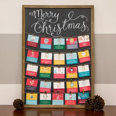 Make This Festive Advent Calendar for Around $40