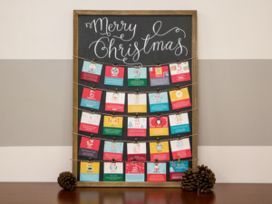 DIY Advent Board