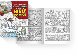 Awesome Coloring Book of Bible Comics