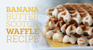 Here's a Wonderful Waffle Recipe You Can Make with Your Kids