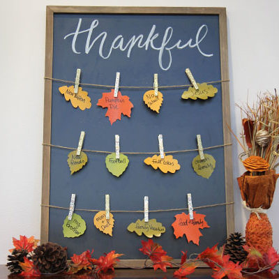 Give Thanks with this Creative and Colorful Craft