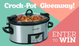 Enter Our Crock-Pot Giveaway + Get This Delicious Fall Recipe to Try