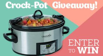 A Holiday Bonus – An Extra Crock-Pot Giveaway + Recipe!