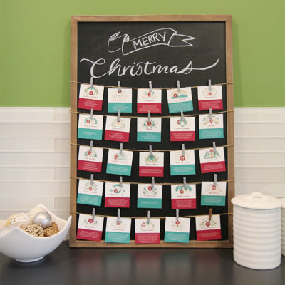 Add Meaning to Christmas with Advent Scripture Cards